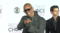 Shemar Moore at the People's Choice Awards 2016 at Nokia Plaza LA LIVE on January 6 2016 in Los Angeles California