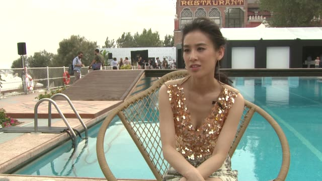 Shengyi Huang on the story of the film at the Baishe Chuanshuo Interview Venice Film Festival 2011 at Venice