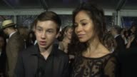 INTERVIEW Sherri Saum and Hayden Byerly on the event at People's Choice Awards 2016 at Nokia Plaza LA LIVE on January 06 2016 in Los Angeles...
