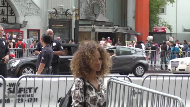Sherri Saum arriving to the Queen Of Katwe at El Capitan Theatre in Hollywood in Celebrity Sightings in Los Angeles