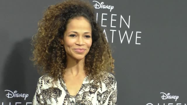 Sherri Saum at 'Queen Of Katwe' Los Angeles Premiere at the El Capitan Theatre on September 20 2016 in Hollywood California