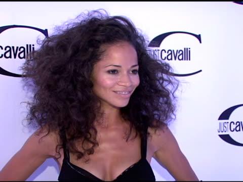 Sherri Saum at the Cavalli NY Flagship Store Launch at Cavalli Flagship Store in New York New York on September 7 2007