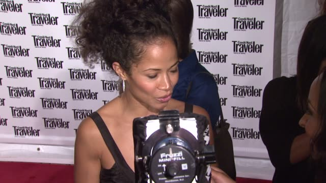 Sherri Saum at the Conde Nast Traveler Celebrates 20 Years of Truth in Travel at the CooperHewitt National Design Museum in New York New York on...