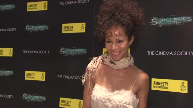Sherri Saum at the The Cinema Society Screening Of 'The Sorcerer's Apprentice' at New York NY