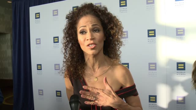 INTERVIEW Sherri Saum on the event at The Human Rights Campaign 2017 Los Angeles Gala Dinner in Los Angeles CA