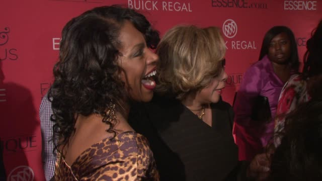 Sherryl Lee Ralph and Diahann Carroll at the Essence Magazine 40th Anniversary Fierce Fabulous Awards Luncheon at New York NY