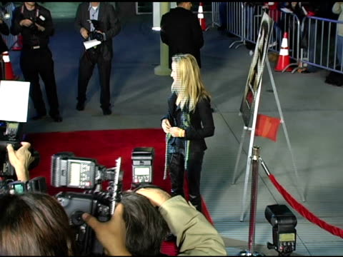 Sheryl Crow at the Special Screening of 'The Jacket' at the Pacific ArcLight Theatre in Los Angeles California on February 28 2005