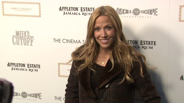 Sheryl Crow at the The Cinema Society Nancy Gonzalez Host A Screening Of 'Meek's Cutoff' at New York NY