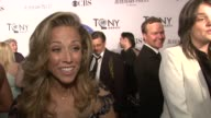 Sheryl Crow feels like it's her first day at a new school at 66th Annual Tony Awards Red Carpet at The Beacon Theatre on June 10 2012 in New York New...