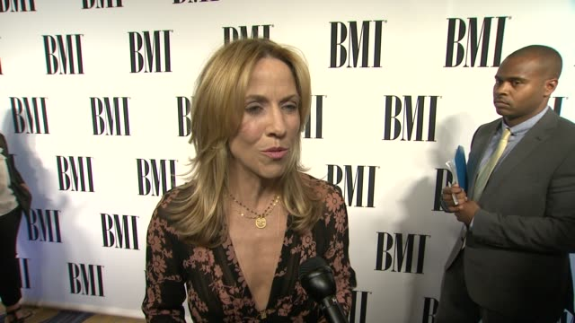 INTERVIEW Sheryl Crow on the event Stevie Nicks her songwriting process how being a Mom influences her writing at 62nd Annual BMI Pop Awards in Los...
