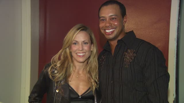 Sheryl Crow Tiger Woods at the 5th Annual Tiger Woods Learning Center Block Party at Anaheim CA