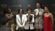 SPEECH Sheryl Underwood Sara Gilbert Sharon Osbourne Aisha Tyler and Julie Chen at 43rd Annual Daytime Emmy Awards at Westin Bonaventure Hotel on May...