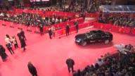 BROLL Shia LaBeouf Stellan Skarsgard Stacy Martin Christian Slater Uma Thurman at 'Nymphomaniac' Red Carpet at Berlinale Palast on February 9 2014 in...