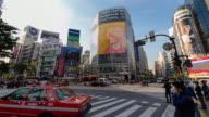 T/L,LA,Shibuya clossing,Tokyo/Japan