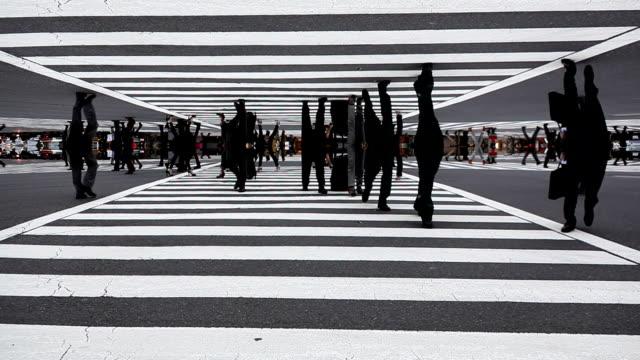 Shibuya Crossing Futuristic