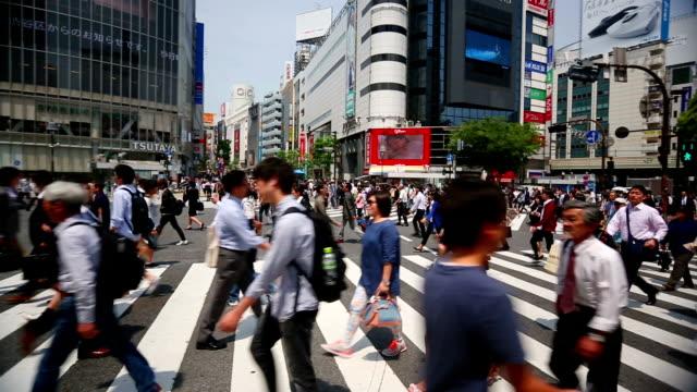 Shibuya crsossing