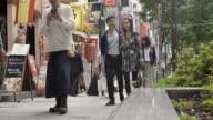 Shibuya Friends Walking Street Slow motion Tokyo Japan.