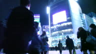 Shibuya Scramble Crossing In Tokyo