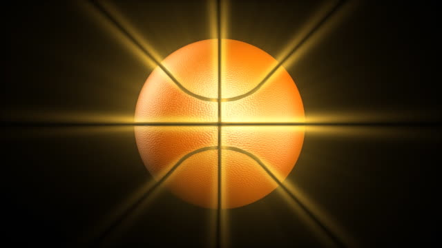 Glitzernde basketball-HD1080