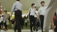 Shinjuku Station Rush Hour