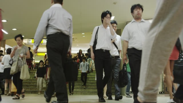 Shinjuku Station Rush Hour