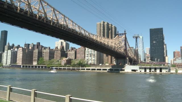 WS Ship passing through sea / New York, United States
