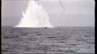 Off Rathlin Island GV Sea MS Explosion MS Bloom towed out NAF