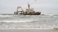 Shipwreck On Namibian Coast
