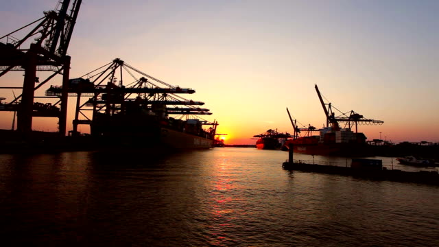 Shipyard in Hamburg