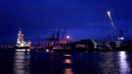Shipyard, time lapse