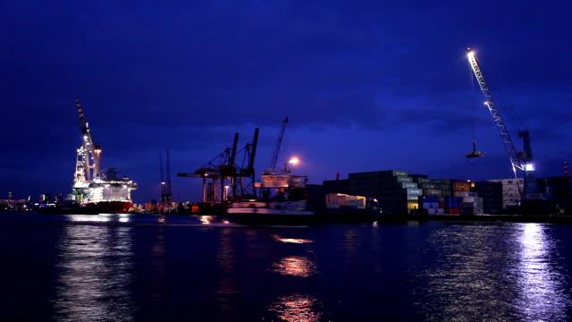 Shipyard, Zeitraffer