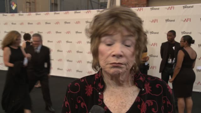 Shirley MacLaine Honored with the 40th AFI Life Achievement Award EVENT CAPSULE CLEAN Shirley MacLaine Honored with on June 07 2012 in Los Angeles...