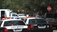 A shooter opened fire in a residential neighborhood one block from Texas AM University The shooter Thomas Caffall A constable for Brazos County Brian...