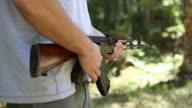 HD shooting gun - automatic rifle AK47
