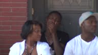WGN Shooting Victim Father and Gang Member Antonio Brown Grieving Before Son's Wake in Chicago on July 10 2015