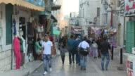 Shop-Lined Street, Bethlehem, Palestine