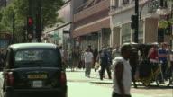 WS Shoppers on Oxford Street, London, UK