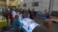 Shopping at Bird's fair