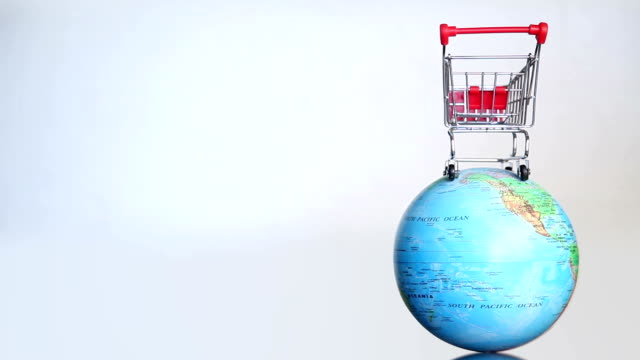 Shopping Cart on the World