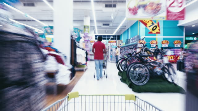 shopping cart point of view