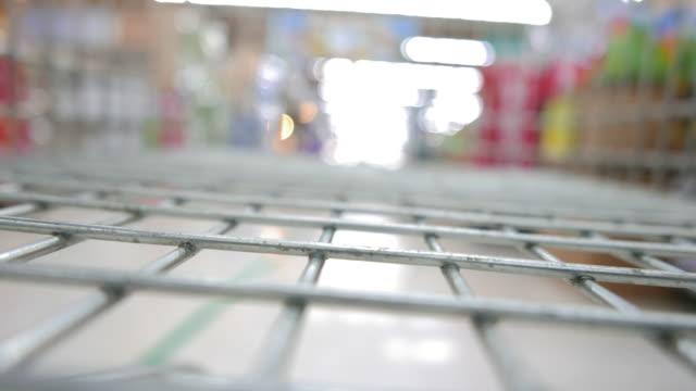 Shopping cart timelapse