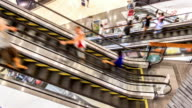 Shopping Mall Escalator TIMELAPSE