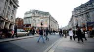 shopping on Oxford street, London, England