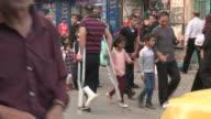 Shops and Pedestrians, Bethlehem, Palestine