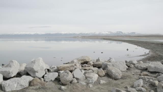 Shore of Great Salt Lake