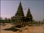 Shore Temple and Descent of the Ganges at Mahabalipuram India