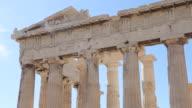 CU Shot of Akropolis / Athen, Greece