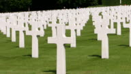 MS Shot of American Cemetery / Luxembourg, Luxembourg City, Luxembourg