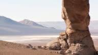 WS Shot of Atacama desert in high Andes, Chile / San Pedro de Atacama, Norte Grande, Chile