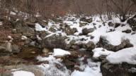 MS Shot of Bangtaesan Mountain Valley / Injegun, Gangwondo, South Korea